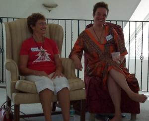 Women Enjoying Spiritual Retreat Florida